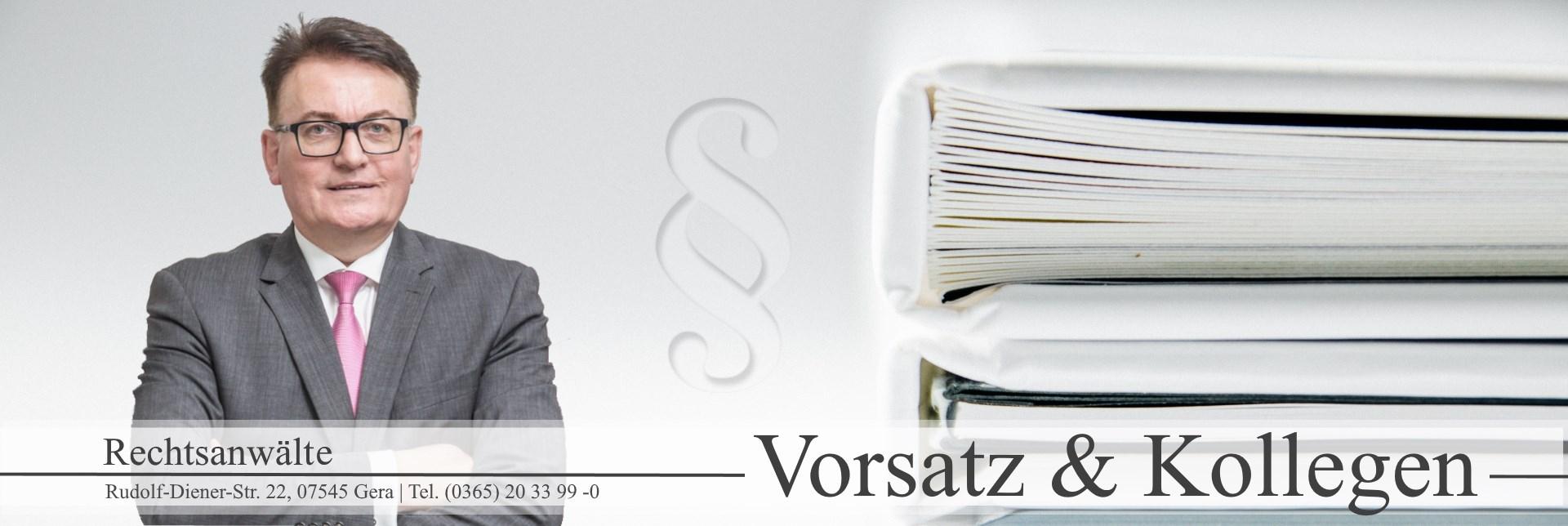 Rechtsanwälte Vorsatz & Kollegen aus Gera